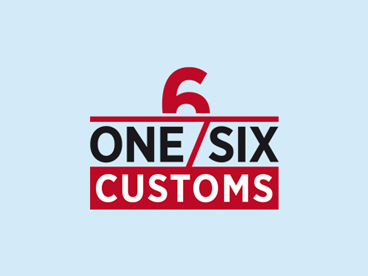 der-tm_logodesign_one-six-customs.jpg
